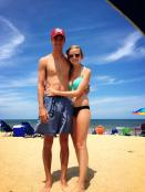 Loving the beach in Nags Head